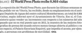El world press photo recibe 8.864 visitas