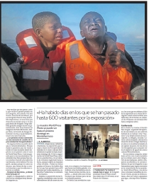 La muestra World Press Photo se puede ve hasta el próximo domingo en Montehermoso